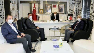 Başkan Kılınç, Kurum Yetkilileriyle İstişarede Bulundu