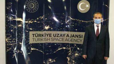 Başkan Kılınç, Türkiye Uzay Ajansı Başkanı Yıldırım'ı Ziyaret Etti