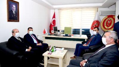 Başkan Gürkan Veterinerler odasını ziyaret etti