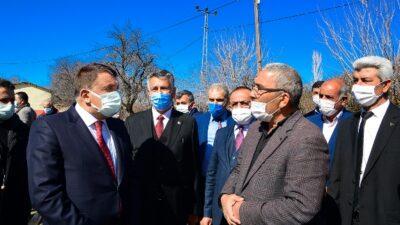 Başkan Gürkan Yazıhan Bereketli Mahallesini Ziyaret Etti
