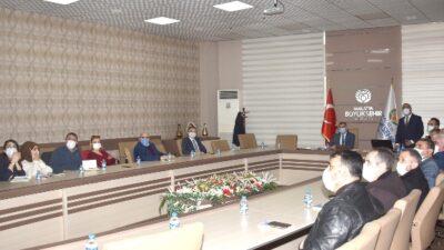 Malatya Büyükşehir Belediyesi İş Sağlığı ve Güvenliği Kurulu 2021 Yılı İlk Toplantısı