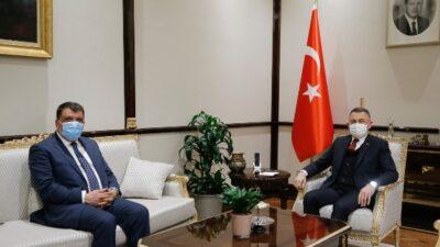 Selahattin Gürkan Türkiye Belediyeler Birliğine Başkanlık Etti