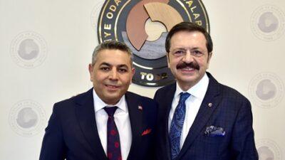 """Başkan Sadıkoğlu: """"TOBB'un 69. kuruluş yıl dönümünü kutluyorum"""""""