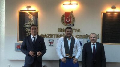 Türkiye Değişim Partisi Genel Başkan Yardımcısı Teoman Mutlu Malatya Gazeteciler Cemiyetini ziyaret etti