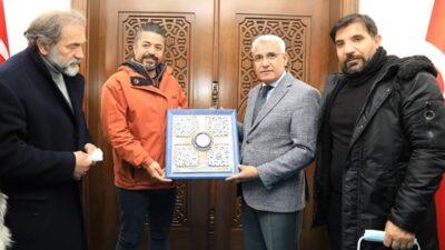 Ünlü Sanatçılardan Başkan Güdere Ziyaret
