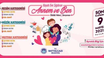 Battalgazi Belediyesinden Anneler Gününe Özel Videolu Yarışma