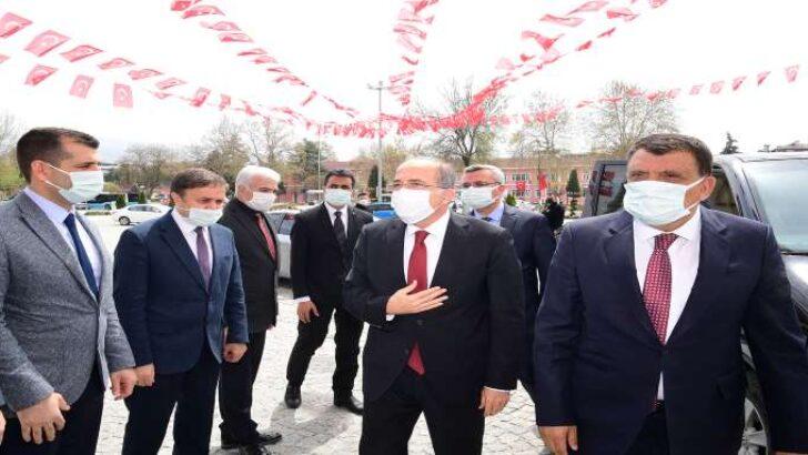 Milli Savunma Bakan Yardımcı Alpay'dan Başkan Gürkan'a ziyaret
