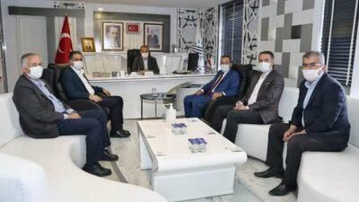 Milletvekili Fırat'tan, Belediye Başkanı Kılınç'a Ziyaret