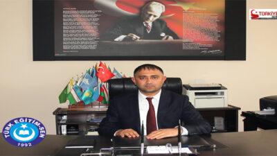 """""""Sevdamız Türkiye Derdimiz Türk EğitimSen"""""""
