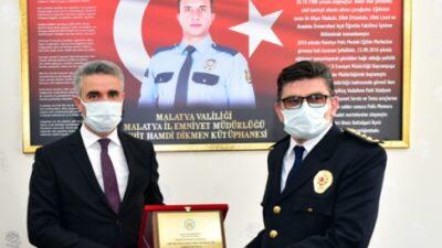Şehit Polis Memuru Hamdi Dikmen Kütüphanesi Açıldı