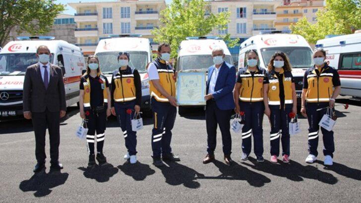 Başkan Güderden Trafik Haftası Ziyaretleri