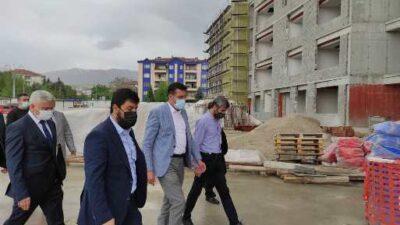 """Tüfenkci: """"Yeni SGK binası 2021 sonunda hazır hale gelecek"""""""