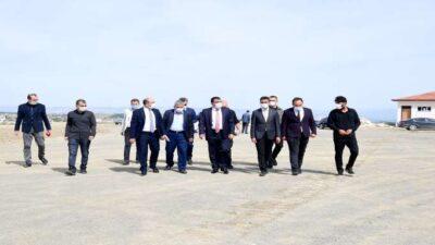 Başkan Gürkan Orduzu'da yapılan çalışmaları inceledi