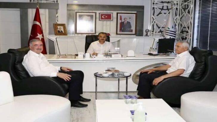 Başkan Kılınç, Başkan Turanlı'yı Ağırladı