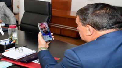 Başkan Gürkan Anadolu Efes Oyuncusu Krunoslav Simon İle Görüştü