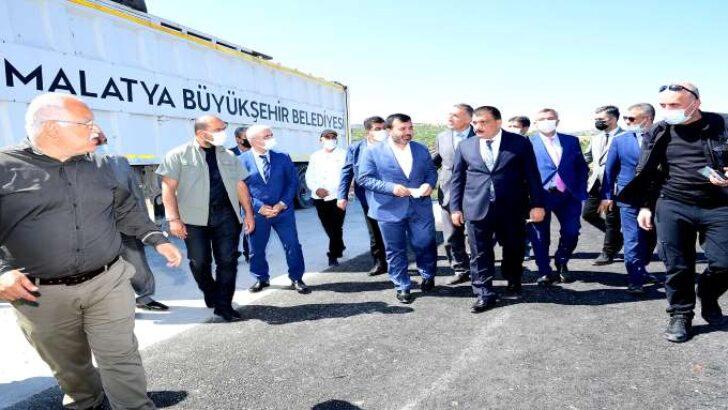 Başkan Gürkan Çöp Aktarma İstasyonunu Ziyaret Etti