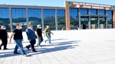 Başkan Gürkan Fuar Alanındaki Yeni Yol Çalışmalarını İnceledi