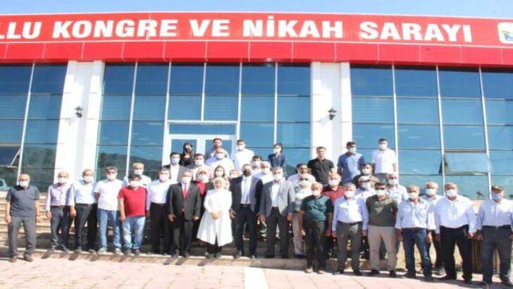 """AK Partili Çalık: """"Kale'yi yeniden inşa ediyoruz"""""""