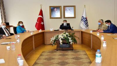 Vali Aydın Baruş Başkanlığında Uyuşturucu ile Mücadele Toplantısı Gerçekleştirildi.
