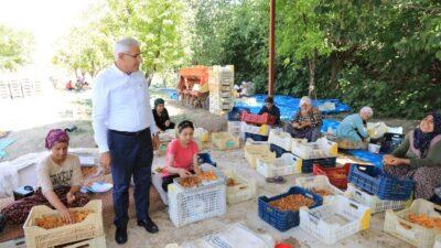 Başkan Güder'den Mevsimlik İşçilere Bayram Ziyareti