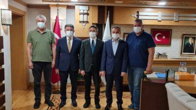 Başkan Kılınç, Ankara'daki Temaslarına Ara Vermeden Devam Ediyor
