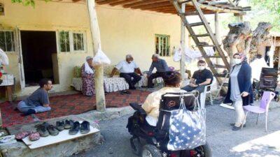 Engelli kardeşlere Kent Konseyinden şefkat eli uzandı