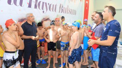 5 branşta açılan yaz spor kursları yoğun ilgi