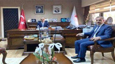 Başkan Kılınç'ın Ankara Gündeminde de Su Sorununun Çözümü Vardı