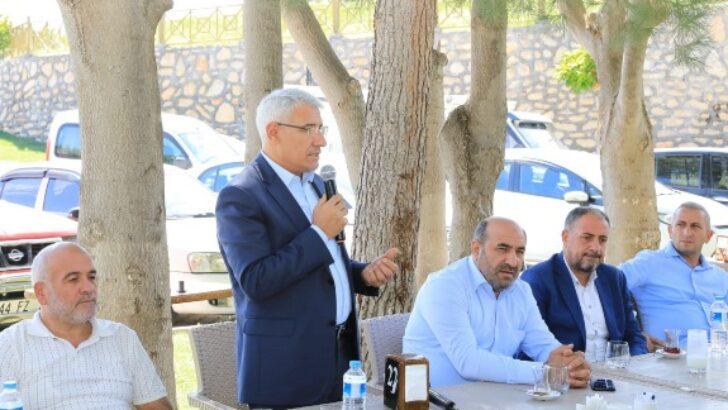 Ak Parti Mahalle Başkanları, Battalgazi'deki Yatırımları İnceledi