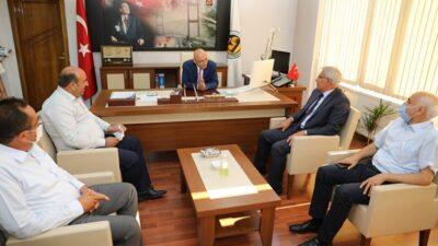 Başkan Güder'den Müdür Bacanlı'ya Hayırlı Olsun Ziyareti