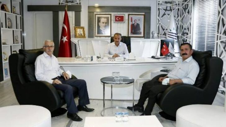 Alevi Kültür Derneği Başkanı Tanrıverdi'den, Başkan Kılınç'a Ziyaret