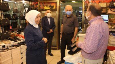 AK Partili Çalık'tan Kapalı Çarşı Esnaflarına Ziyaret