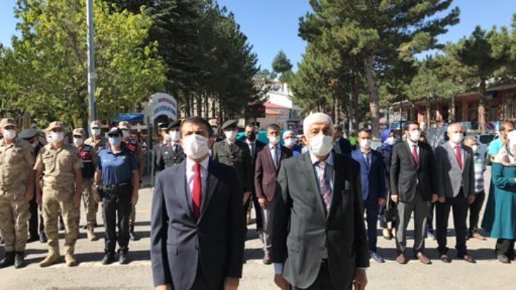 İlçemizde 19 Eylül Gazileri Anma Günü Münasebetiyle Program Gerçekleştirildi.