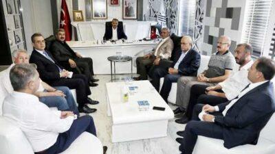 MÜSİAD'dan, Başkan Kılınç'a Ziyaret