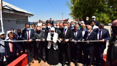 Vali Baruş 66. Dönem Pancar Alım Törenine Katıldı