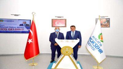 KKTC Gönyeli Belediye Başkanı Benli'den Başkan Gürkan'a ziyaret