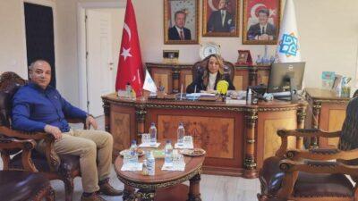 Başhekim Deniz'den Rektör Karabulut'a Ziyaret