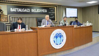 Battalgazi Belediye Meclisi Ekim Ayı Olağan Toplantısının 3.Birleşimi Tamamlandı