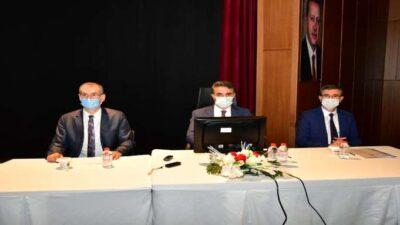 2021 Yılı 4. Dönem İl Koordinasyon Kurulu Toplantısı Düzenlendi