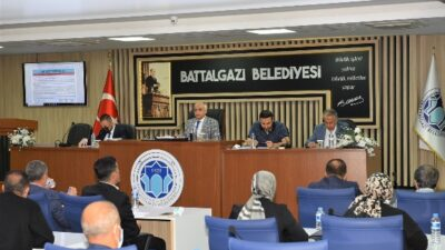 Battalgazi Belediye Meclisi Ekim Ayı Olağan Toplantısının 5.Birleşimi Tamamlandı
