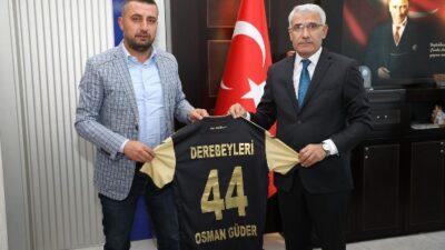 "Başkan Güder: ""Yeni Malatyaspor Ortak Paydamızdır"""
