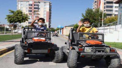 Battalgazi Trafik Eğitim Parkı Minik Öğrencileri Konuk Etti