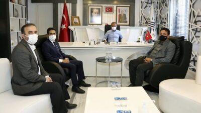 Başkan Kılınç, AKEDAŞ Yetkilileriyle Projeler Hakkında Görüştü