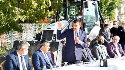 Başkan Gürkan, MASKİ Personelleri Ziyaret