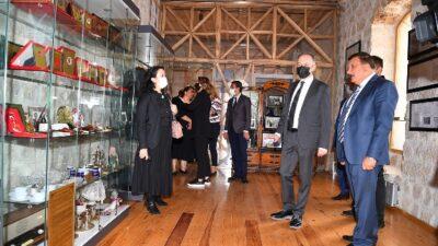 Kültür ve Turizm Bakanlığı yetkilileri incelemelerde bulundular
