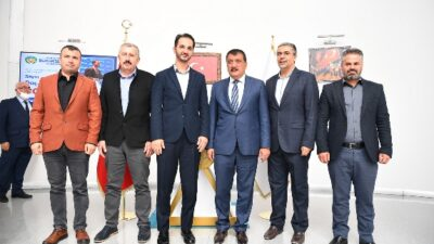 Başkan Gürkan, Uluslararası Öğrenci Dernekleri Federasyonu Başkanını kabul etti