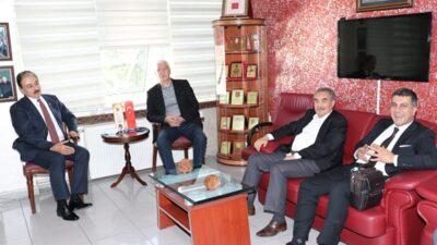 Zengin'den MESOB Başkanı Keskin'e ziyaret