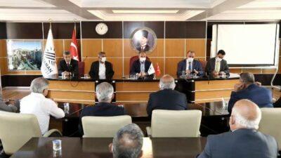 Muhtarlardan, Başkan Kılınç'a Ziyaret