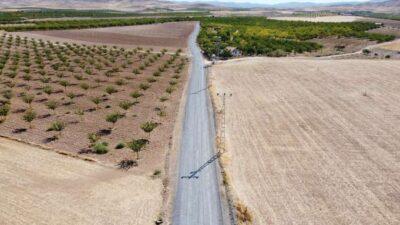 Battalgazi'deki Kırsalda Asfaltsız Yol Kalmıyor