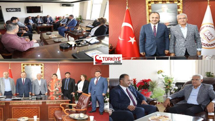 """Başkan Güder'den Baro Başkanı'na """"Hayırlı Olsun"""" Ziyareti"""